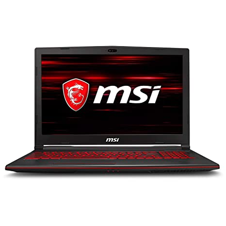 MSI GL63 8RE-673 Laptop (8th Gen Intel Core i7-8750H 6-Core Processor, 32GB DDR4 RAM, 1TB M.2 PCIe SSD + 2TB 2.5 HDD, 15.6