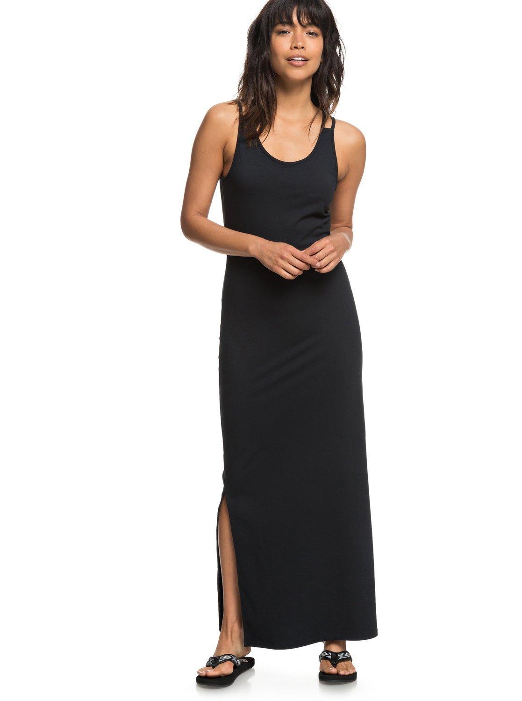Roxy Womens Love On The Line - Maxi Dress - Women - XL - Black True Black XL