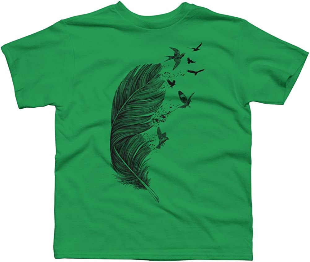 Design By Humans Birds of a Feather Boys Youth Graphic T Shirt