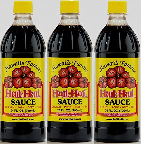 Hawaiian Huli Huli Sauce (3 Bottles) (Best Korean Bbq Marinade Recipe)