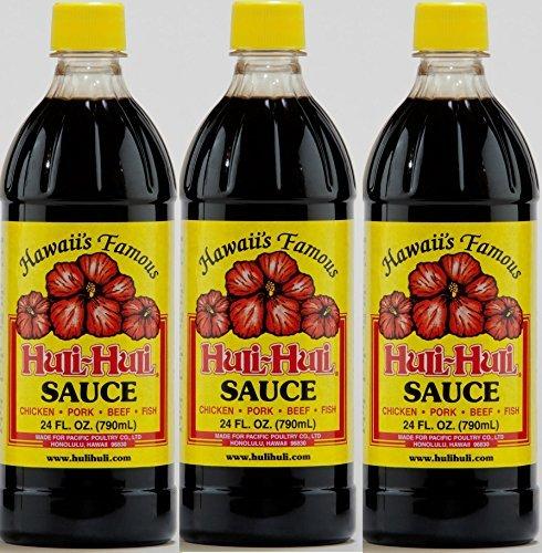 Hawaiian Huli Huli Sauce (3 Bottles) (Best Food In Hawaii)