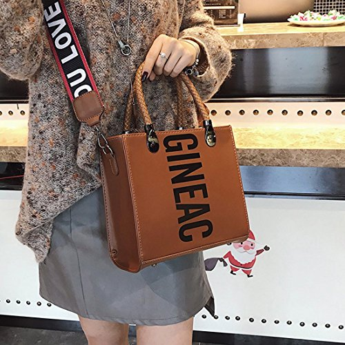Coyote a mano Borsa Sabarry Brown donna q68axwpH