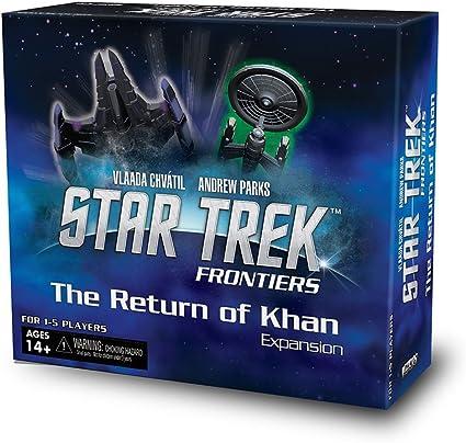 Return of the Khan Expansion: Star Trek Frontiers - English: Amazon.es: Juguetes y juegos