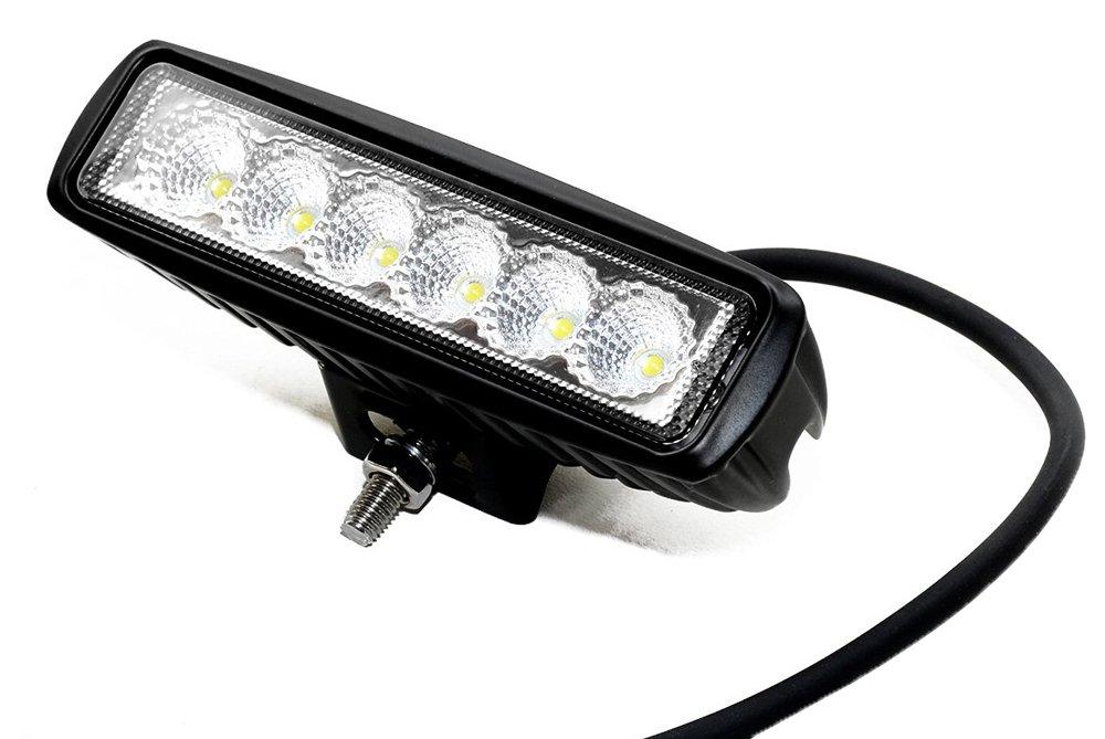 Leetop 2X 126W LED Arbeitsscheinwerfer wei/ß 12V 24V Flutlicht Reflektor Work Light Bar Scheinwerfer Arbeitslicht Offroad Arbeitslampe f/ür Traktor