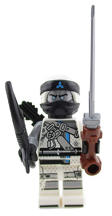 Amazoncom Lego Ninjago Zane Ninja Minifigure 70652 Hunted Mini Fig
