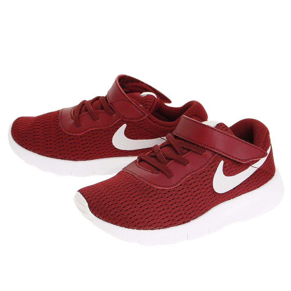 NIKE Toddlers Tanjun (TDV) Running Shoe B072BWMK56 9 Toddler M|Team Red/Vast Grey/White