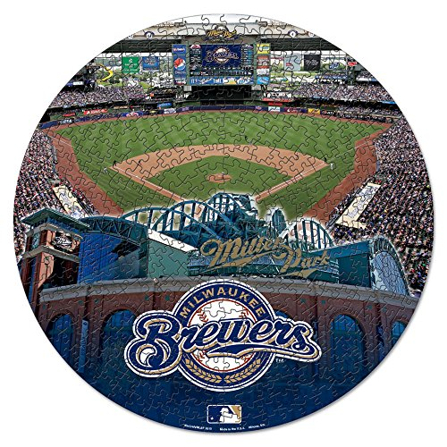 WinCraft MLB Milwaukee Brewers Puzzle in Box (500 Piece) -