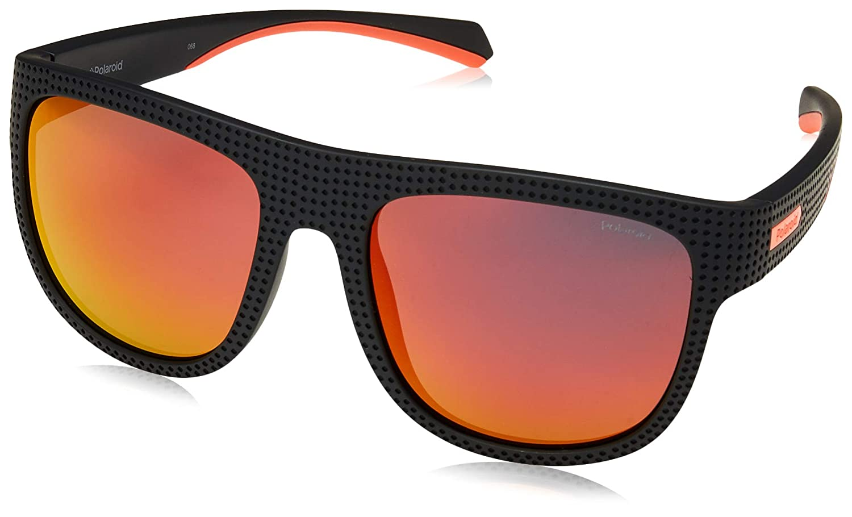 Polaroid Damen Pld 6055S Sonnenbrille, Mehrfarbig (Black), 59
