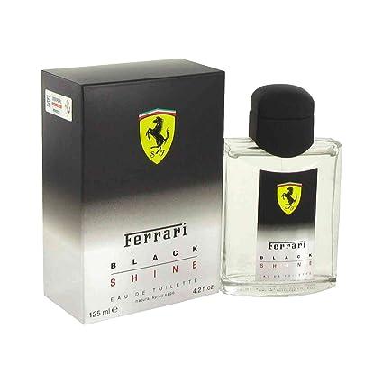 Ferrari color negro y diseño De bombilla De manga corta para hombre Colonia De imitación aerosol