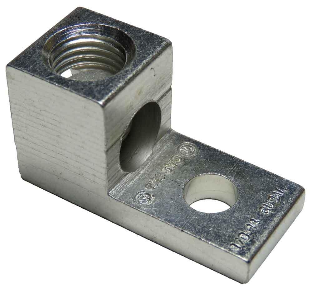 S1/0 Single Wire Mechanical Lug (1/0-14 AWG) Box of 100pcs by LugsDirectCom