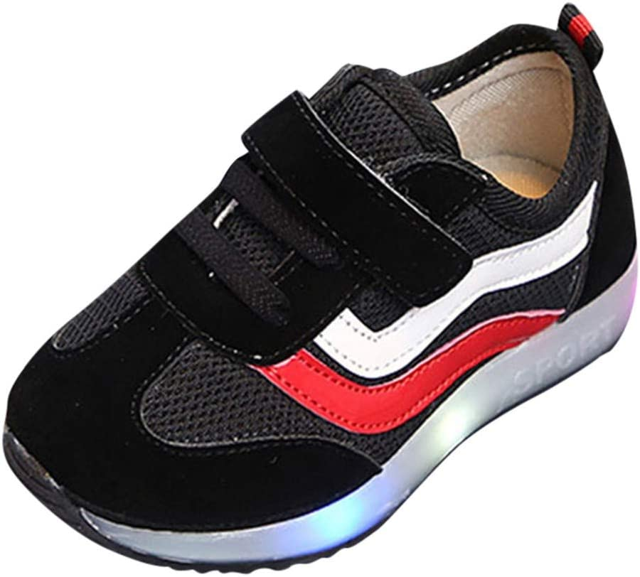 Cloudro Mesh Sneakers Shoes Breathable Soft Sole Running Shoes for Little Boy Girl
