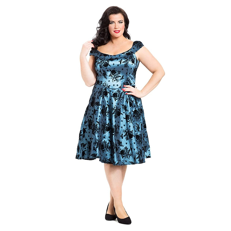 Voodoo Vixen Women's Holly Plus Size Dress