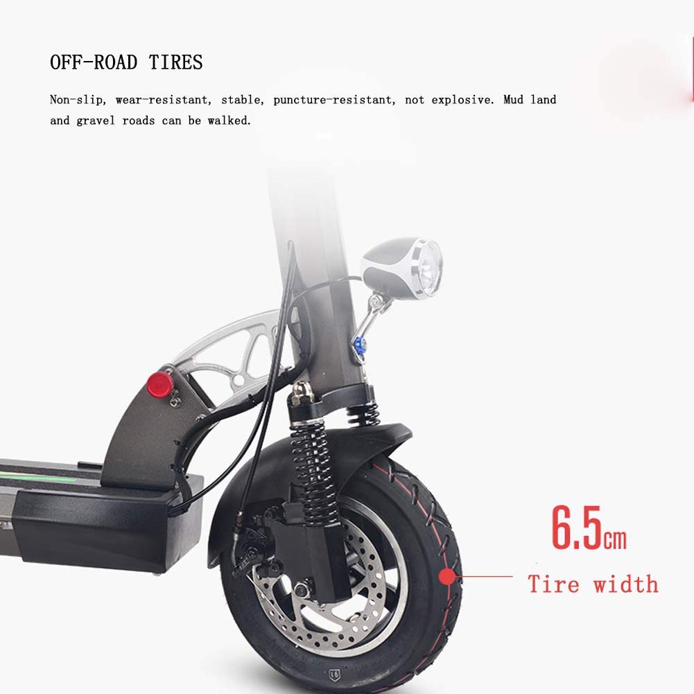 HARBERIDE Patinete Eléctrico Scooter Roller Plegable Scooter ...