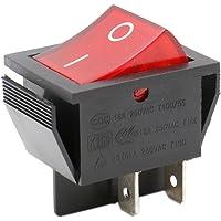 Heschen - Interruptor basculante DPST de encendido