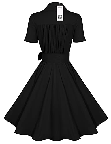 acevog 50s 60s vintage swing pleated dress short sleeves with belt Party City Pink Ladies Jacket acevog 50s 60s vintage swing pleated dress short sleeves with belt rockabilly full circle party dress at amazon women s clothing store