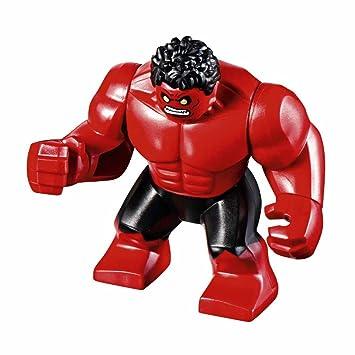 Amazon.com: LEGO Marvel Super Heroes - Red Hulk Figure 2017: Toys ...