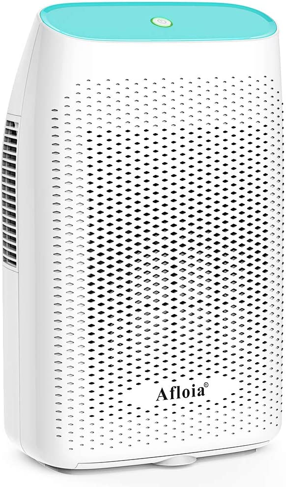 Afloia Electric Dehumidifier for Home Bathroom 2000ML 68 oz ,Portable Dehumidifiers for Home 2201 Cubic Feet Space,Quiet Auto-Off Dehumidifiers for Bathroom,Kitchen,Bedroom,Basement,Bedroom,Closet