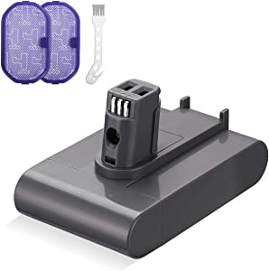 Powerextra Replace DC31 Battery 22.2V 3.5Ah Compatible with Type A DC31 DC34 DC35 DC44 917083-01 Handheld Vacuum(Not Fit All Type B Model, DC31 DC44 MK2)