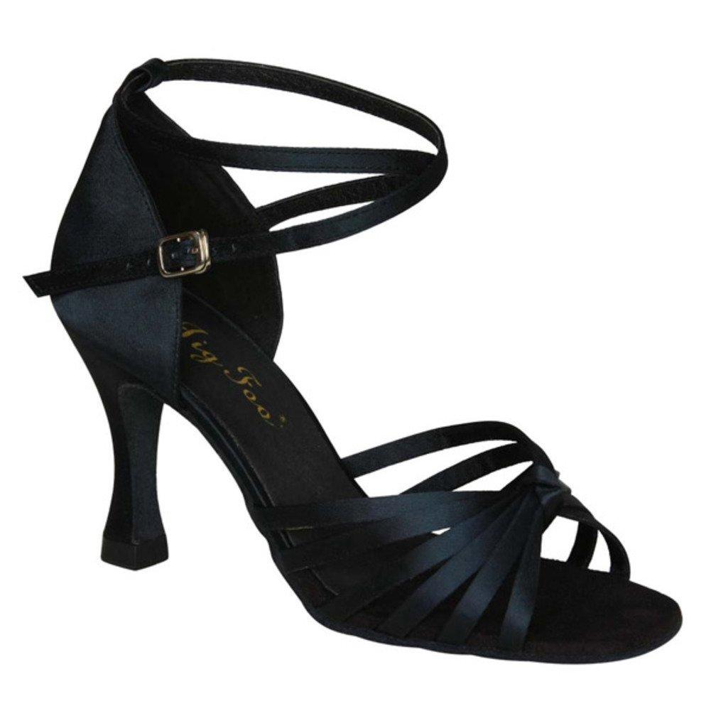 HTW AIEI Frühling und Sommer/Latein Schuhe/Adult Schuhe mit hohen E Absätzen/Tanz Fersen/Lombardei Schuhe E hohen df7fc6