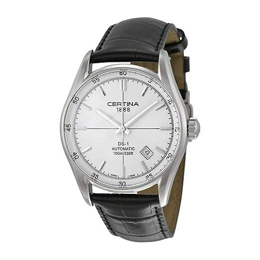 Certina DS-1 - Reloj (Reloj de pulsera, Masculino, Acero, Plata