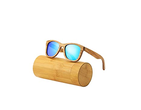 RTGreat New 100% Real Zebra Wood Sunglasses Gafas de sol ...