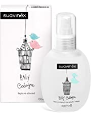 Suavinex - Baby cologne Colonia infantil/Colonia para bebé Baja en alcohol No Mancha, 100 ml