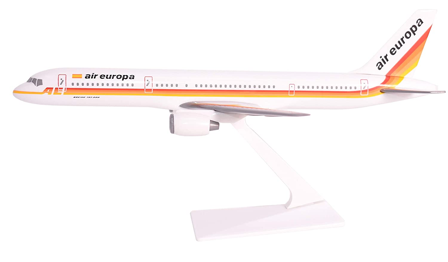 727-200 Airplane Miniature Model Plastic Snap-Fit 1:200 Part# ABO-72720H-002 Federal Express 72-96
