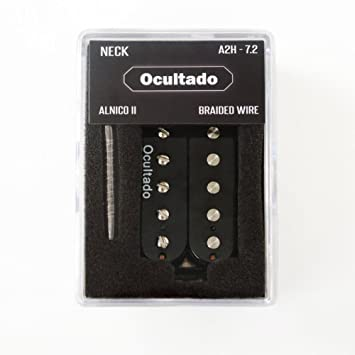 Amazon.com: Ocultado - A2H 72 Humbucker Pickups - ALNICO II Magnets on 1995 johnson outboard wiring diagram, texas special pickup wiring diagram, stratocaster parts diagram, fender strat wiring mods, fender strat hss, fender strat schematics, fender stratocaster grease bucket wiring, fender strat ultra wiring-diagram,