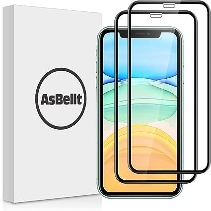 AsBellt Protector Pantalla de iPhone 11/ iPhone XR (6.1 in) (9H ...