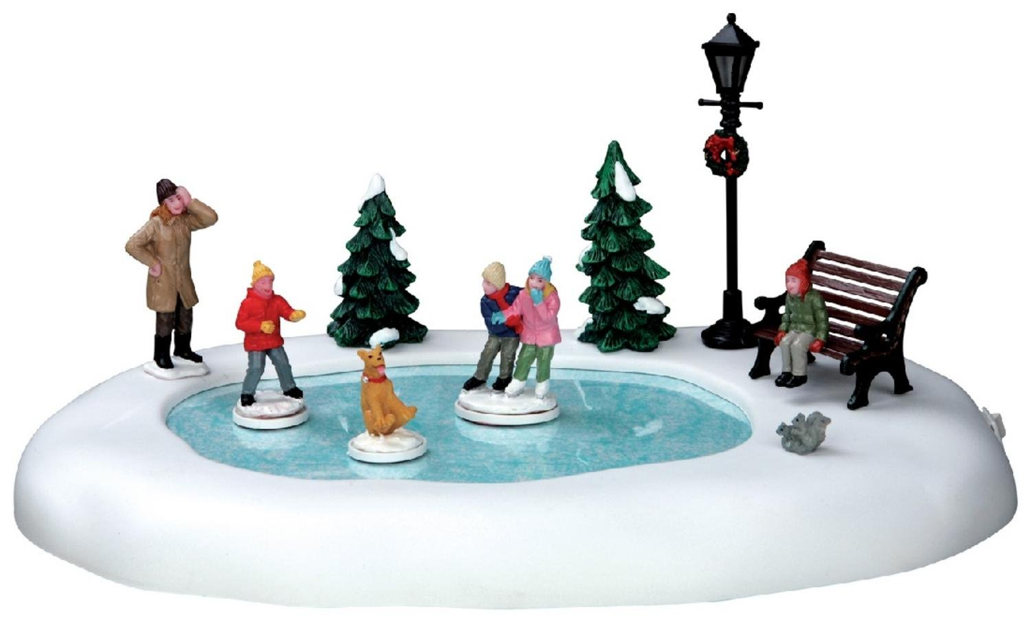 Lemax Vail Village Silly Situation Animated Christmas Table Accent #54922