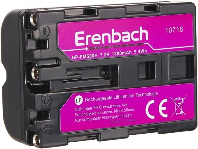 Juego de 2 Eren BACHMANN Premium Batería para la Sony Alpha 68 ...