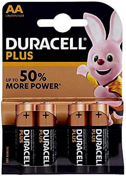 Duracell Plus Power Typ Aa Alkaline Batterien 4er Pack Elektronik