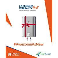 1 Year Extended Warranty Pro Plus Plan for Water Heaters Between Rs. 5,000 to Rs. 10,000