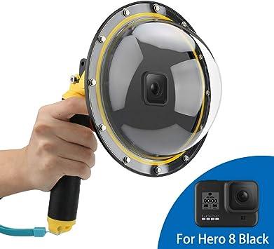 TELESIN For GoPro Hero 5 6 7 8  Underwater Photograph Dome Port Waterproof Case