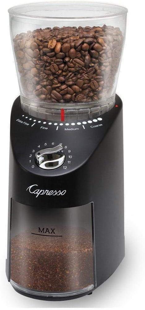 Capresso Infinity Plus Conical Burr Grinder