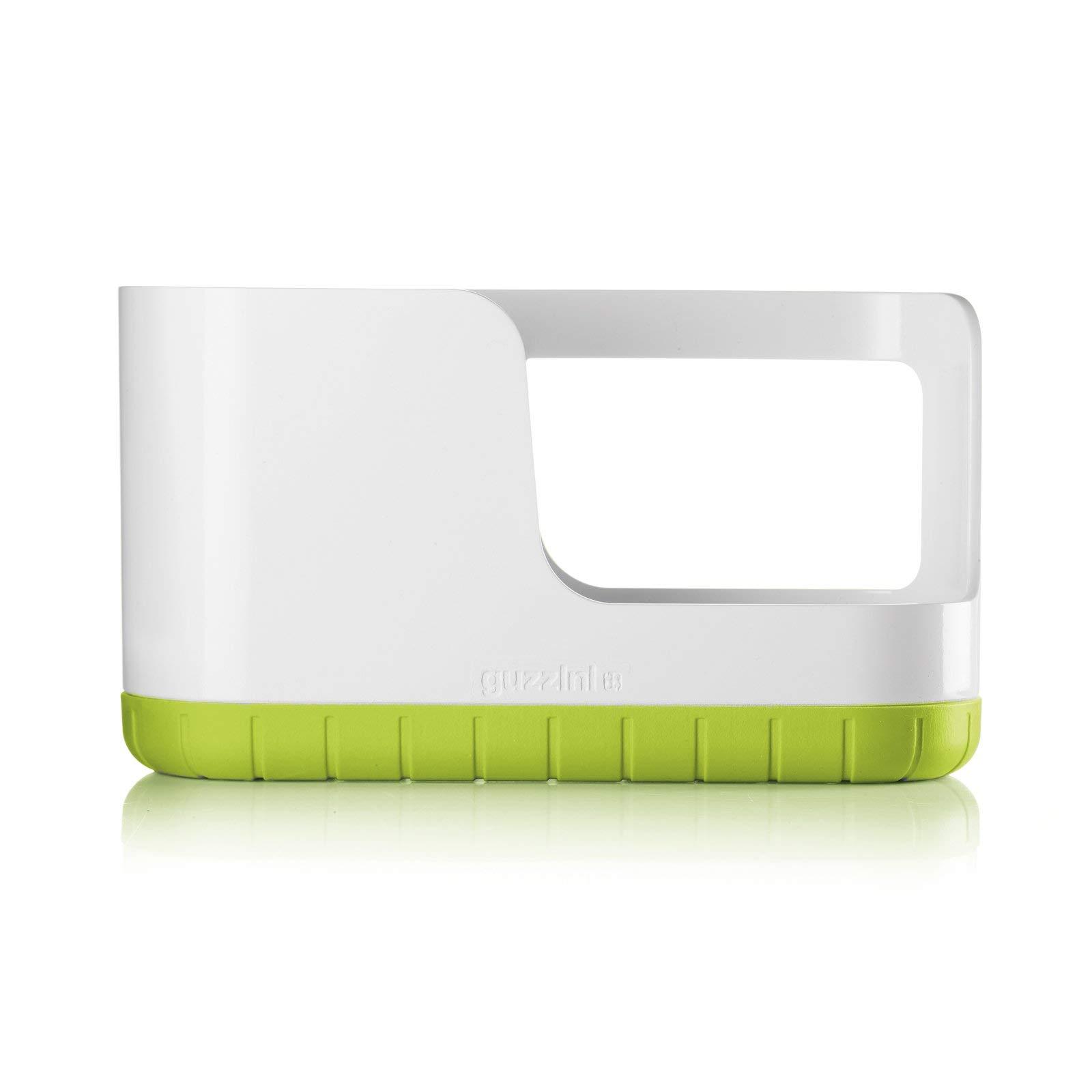 Guzzini My Kitchen Sink Tidy Caddy, 5-1/3-Inches, Apple Green