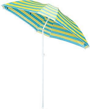 sombrilla y protecci/ón con Paredes. VTK DualBeach sombrilla /& protecci/ón de Playa Zenith-200 Ideal para la Playa 2 en 1