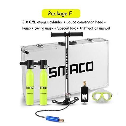 Tauchausrüstung Sauerstoffflasche Tauchen Hochdruckhandpumpe Tank Adapter