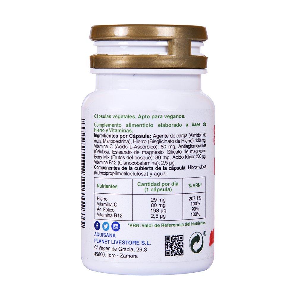 Medicamento que contenga acido folico y hierro