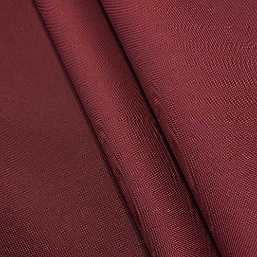 Burgundy 600 Denier Polyester - Canvas Fabric Waterproof Outdoor 60