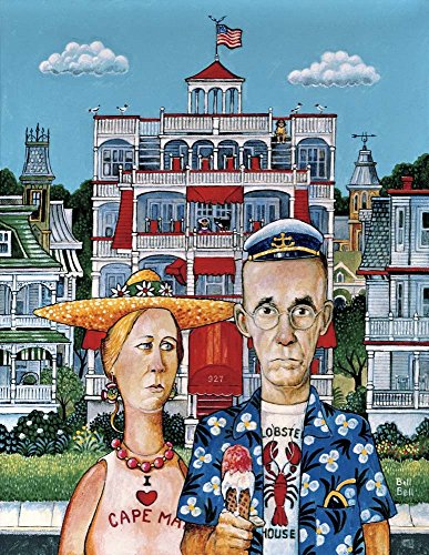 Cape May Gothic by Bill Bell Art Print, 14 x 18 inches