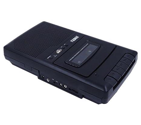 Amazon.com: NAXA Electronics NPB-300 Portable Cassette Recorder and Digital Converter: Electronics