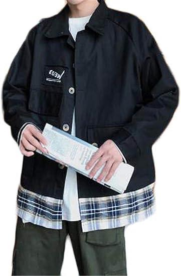 [ンーセンー] ジャケット メンズ ブルゾン コート アウトドア ジャンパー シルエット カジュアル 防寒 防風 ゆったり 春秋冬 オーバーサイズ 大きいサイズ