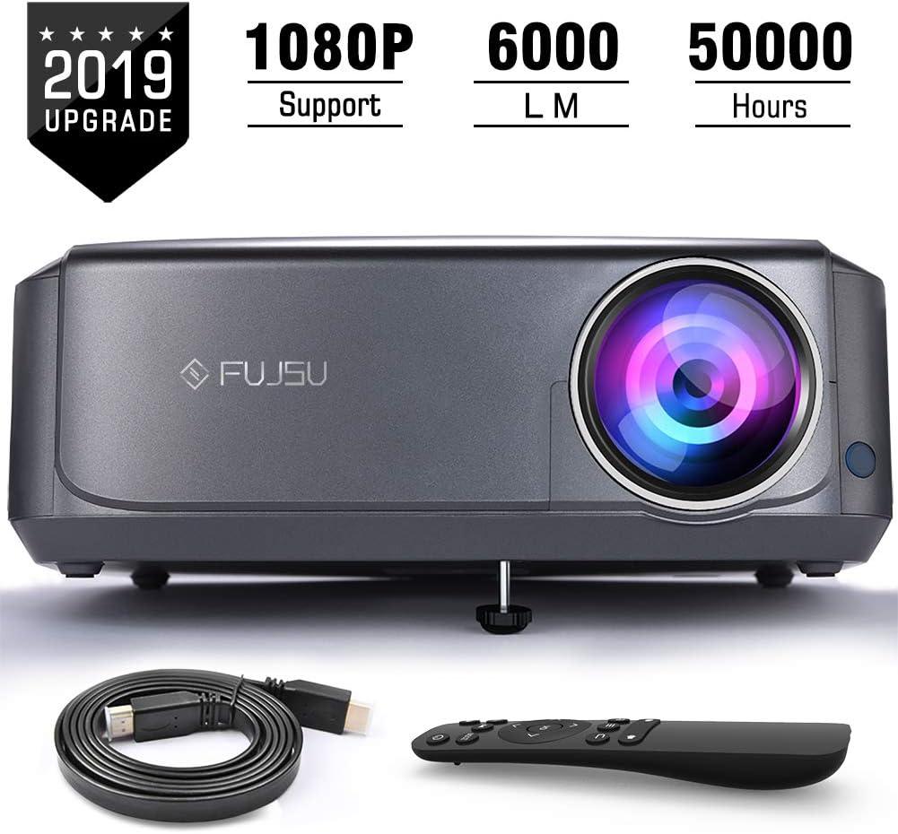 Proyector, FUJSU 4500 Lúmenes Proyector Full HD 1920x1080P Nativo ...