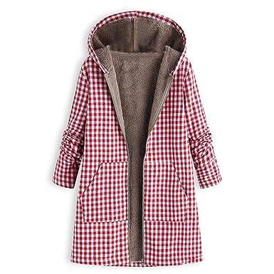 Amazon.com: DEATU - Chaqueta de invierno para mujer, diseño ...