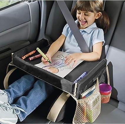 QCWN Bandeja de viaje para asiento de coche, bandejas para ...