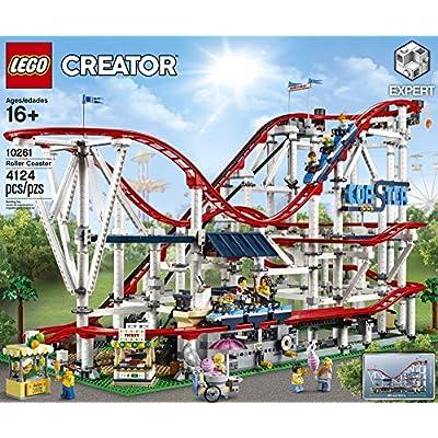 LEGO Creator Expert Roller Coaster 10261 Building Kit (4124 Pieces): Toys & Games