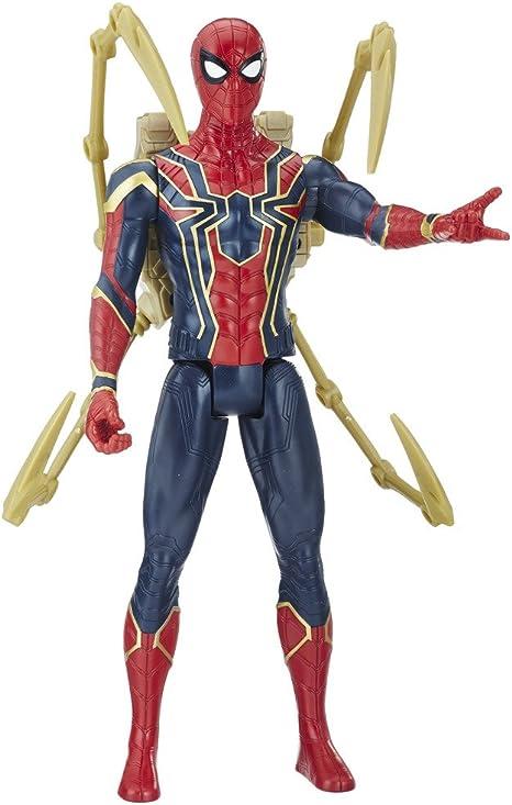 Marvel Titan y Mochila Power Fx Spider-Man Hasbro E0608105, Idioma ...