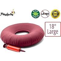 Cojín inflable Penkwin® para uso médico, redondo, sin inflador, para hemorroides,