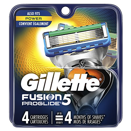 Gillette Fusion ProGlide Men's Razor Blade Refills, 4 Count, Mens Razors/Blades by Gillette